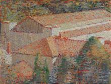 Paisaje, Óleo s/tela 16 x 24
