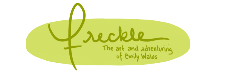 Freckle: The Art and Adventuring of Emily Walus