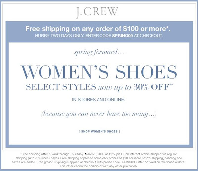 Online Shoes Promo Code February
