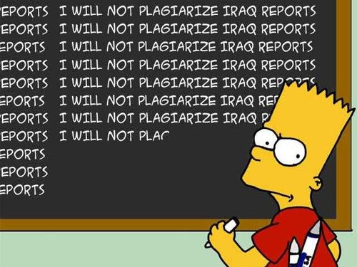 Feel guilty about Plagiarism...?
