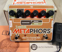 ehx metaphors Electro Harmonix Bass Metaphors Channel Strip & OD in stock