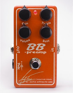 xoticbbat Xotic Effects introduces the Andy Timmons signature BB Preamp