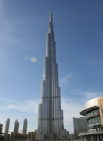 Burj Khalifa - Tallest building in the world