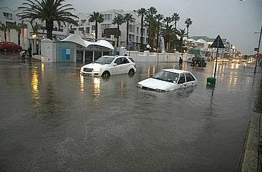 Camps Bay's beach road