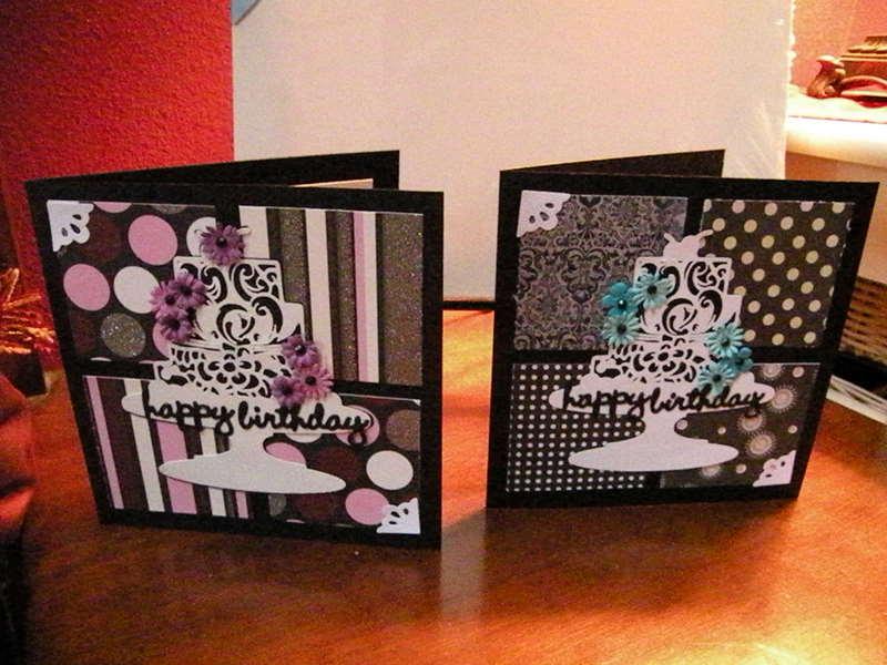 Tamaroos Funky Scrapbook Blog Card Patterns 69 Birthday Cards