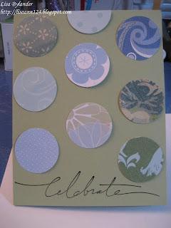 circles,stampin up,papercrafting,SU Wonderful words
