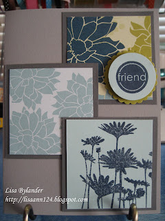 Stampin Up sketch challenge 195, Urban Garden
