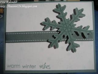 Papertrey Ink Snowfall