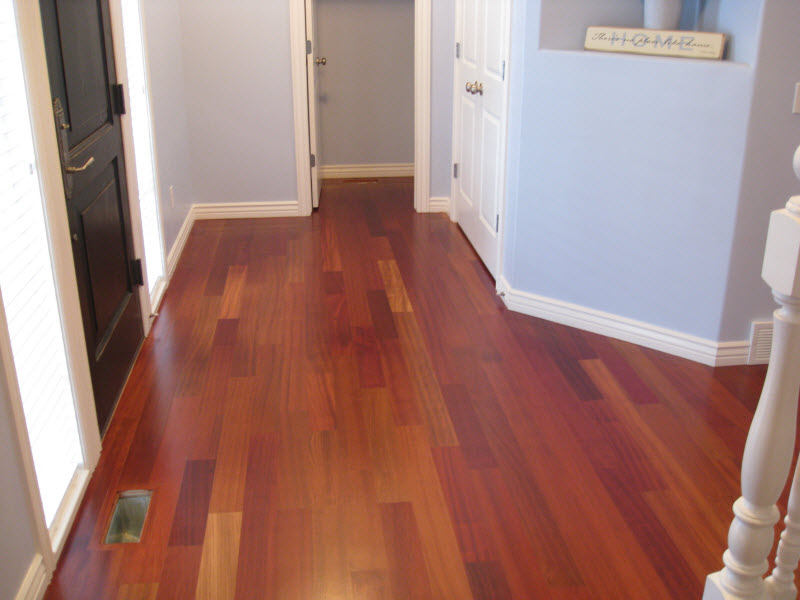 wall color for bedroom with brazilian cherry floors interiordesign