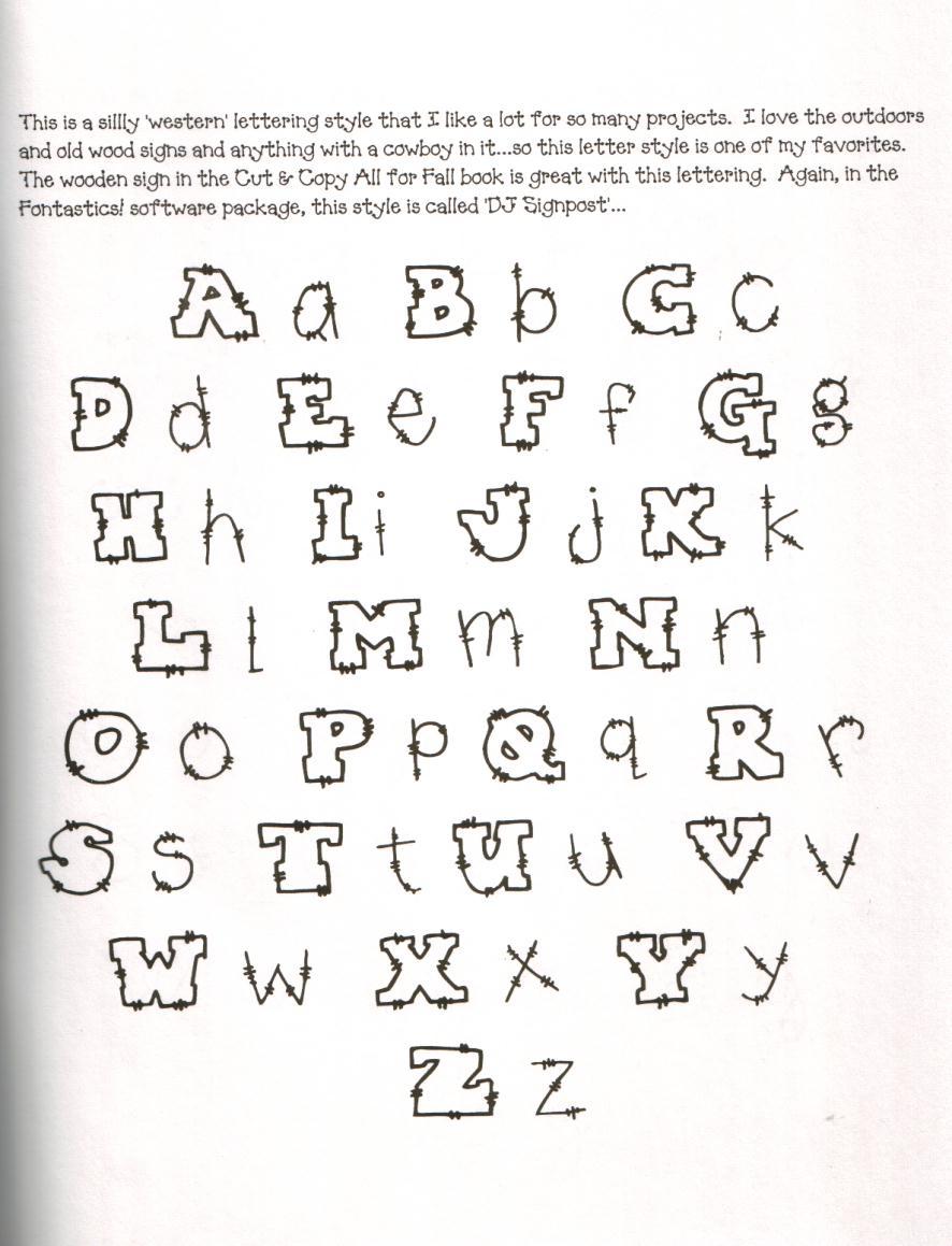 Moldes Para Todo     Letras Para Decorar