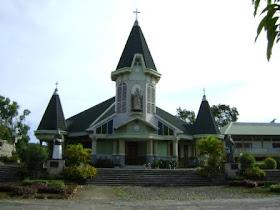 Foto Salah Satu Gereja di Kabupaten Sikka - NTT