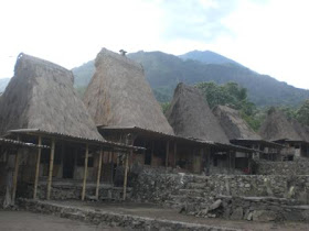 Bena, Tradition of Megalith in Ngada Town - NTT