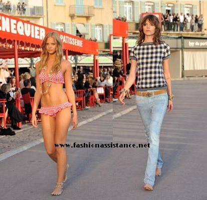 Chanel presenta su colección Crucero 2011 en plena calle ...