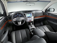 2011 Subaru Outback  New Tecnology interior view