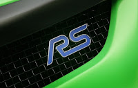 The Amazing Ford Focus RS500 Logo view