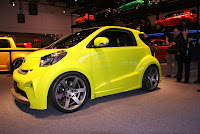 2011 Scion iQ so smart (base price $14,215) side view