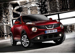 2011 Nissan Juke (estimated base price $18,500) front view
