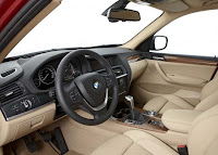 BMW X3 2011 Pictures  Present at Internet interior view