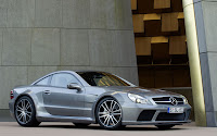 New Mercedes Benz SL65 AMG Black Series and price side view