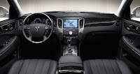 2011 Hyundai Equus New York Auto Show interior view