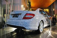 2010 Mercedes C250 CGI clad Batik Indonesia