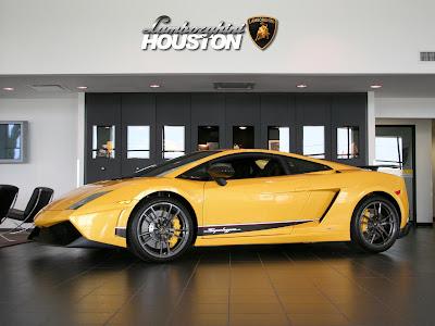 2011 Lamborghini Gallardo LP570-4 Superleggera concept side view