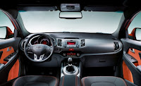 2011 Kia Sportage Official Pictures interior view