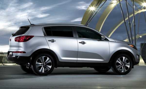 2011 Kia Sportage Official Pictures side view