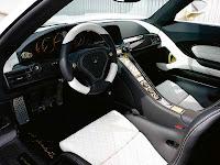 2010 Porsche Carrera GT Gemballa Mirage GT Gold Edition interior view