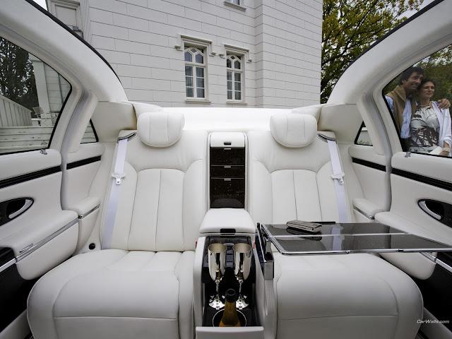 2011 Maybach 62 expensive four door car dashboard