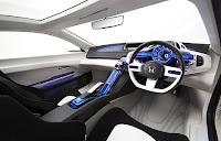 Honda CR-Z Concept Car is Environmentally Friendly future interior view