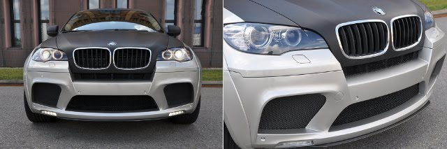 Enco modifF Package Offer For BMW X6 front view