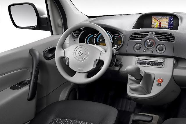 Kangoo Express Z.E First Appearance drive dashboard interior