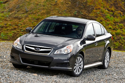 new generation of Subaru Legacy