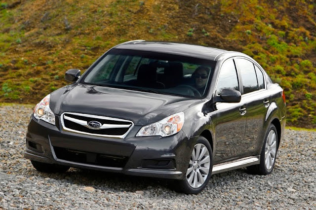 2010 new generation of Subaru Legacy