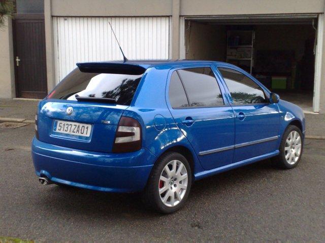 2011 New Skoda Fabia RS concept