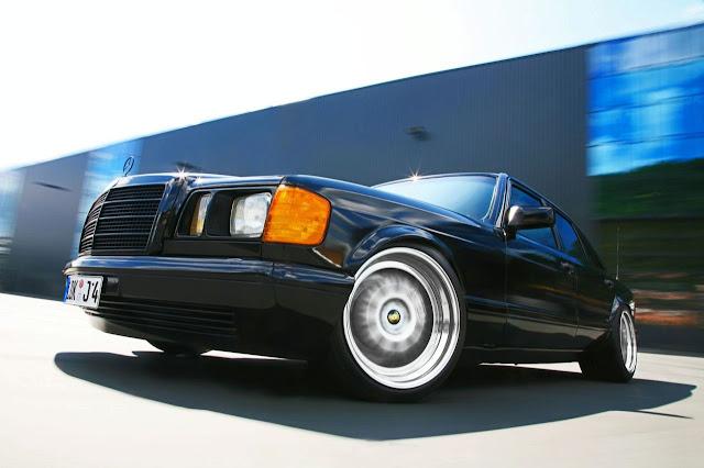 2011 Mercedes-Benz S-Class W126 concept
