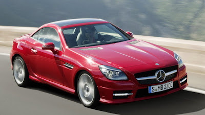 2012 Mercedes-Benz SLK models WorldCarFans publishes