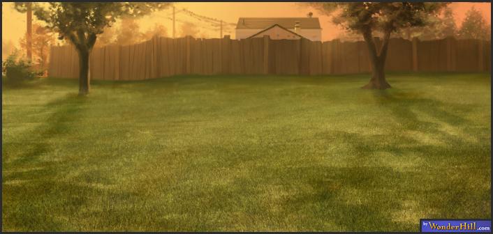 Backyard Background Images : jake h WonderHillcom Background Paintings