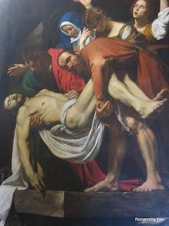 Deposition by Caravaggio