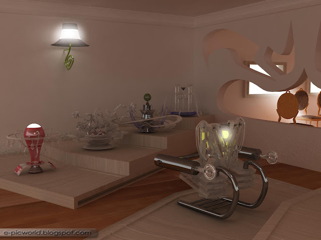 3d sculpture room picture