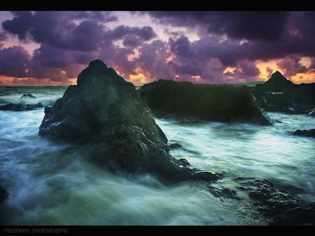Sunrise at pantai Pandak picture