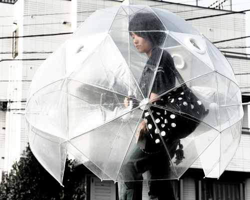 huge japanese weird umbrella