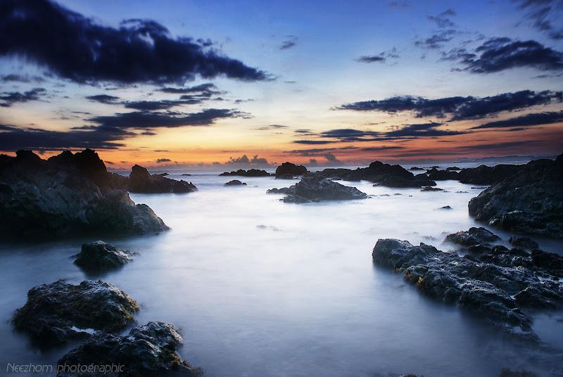 solid determination beach landscape
