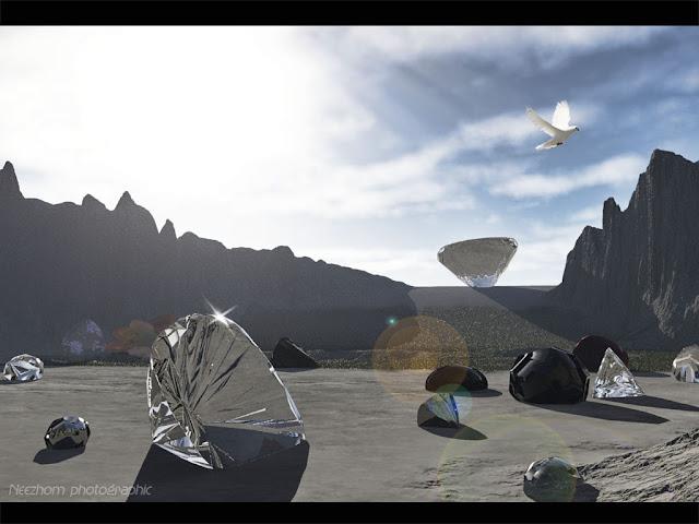 3d landscape picture