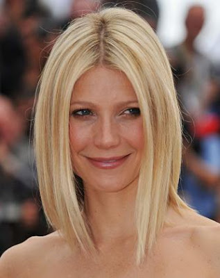 "Celebrities Inverted Bob Hairstyles Behold the ""lob"", aka the long bob."