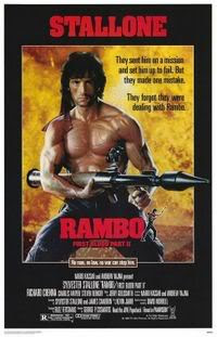 Rambo 2 Poster - First Blood Part II