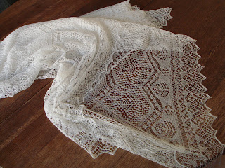 Wedding (or Cheap Fashion) Ring Shawl