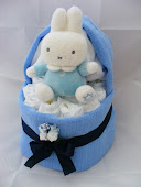 Mini Crib Nappy Cake £18