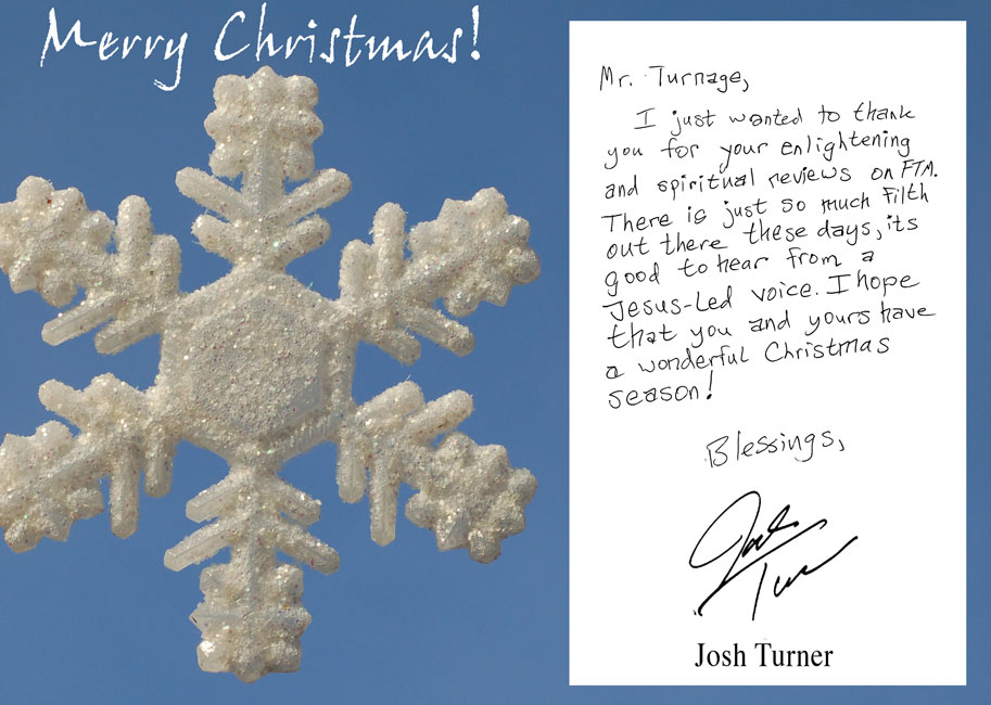 Farce the Music: Country Christmas Cards: Josh Turner